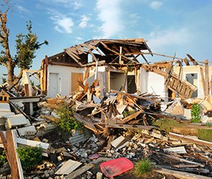 Home-destroyed-by-tornado